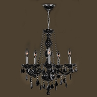 Worldwide W83104C21-BL Provence Polished Chrome Finish 26  Tall Chandelier Lighting