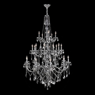 Worldwide W83108C43-CH Provence Polished Chrome Chrome 43  Chandelier Light