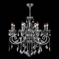 Worldwide W83109C30-CH Kronos Polished Chrome Chrome 30  Ceiling Chandelier