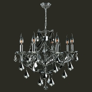 Worldwide W83118C26-CH Lyre Polished Chrome Chrome 26  Lighting Chandelier
