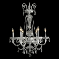 Worldwide W83177C25-CL Carnivale Polished Chrome Clear 25  Lighting Chandelier