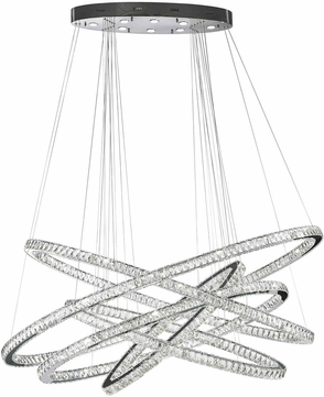 Worldwide w83193kc72 galaxy polished chrome clear led 72 hanging worldwide w83193kc72 galaxy polished chrome clear led 72nbsp hanging chandelier aloadofball Choice Image