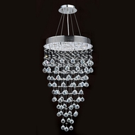 Worldwide W83213C20 Icicle Polished Chrome Clear Halogen Multi Hanging Lamp