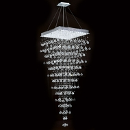 Worldwide W83240C28 Icicle Polished Chrome Clear Halogen Multi Pendant Lamp