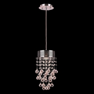 Worldwide W83258C8 Icicle Polished Chrome Clear Halogen Multi Ceiling Pendant Light