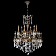 Worldwide W83351B30 Versailles Antique Bronze Finish 39  Tall Ceiling Chandelier