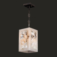Worldwide W83821F6 Pompeii Flemish Brass Finish 6  Wide Mini Pendant Lighting Fixture