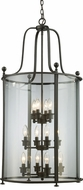 Z-Lite 135-12 Wyndham Bronze 21.5  Wide Foyer Lighting