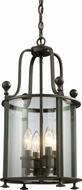 Z-Lite 135-4 Wyndham Bronze 11.5  Wide Foyer Lighting Fixture