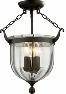 Z-Lite 140SF Warwick Bronze 16  Tall Overhead Lighting