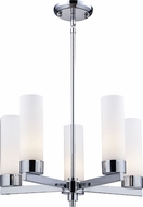 Z-Lite 163-5 Ibis Chrome 53  Tall Mini Chandelier Lighting
