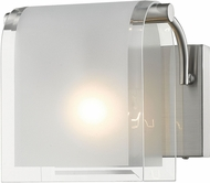 Z-Lite 169-1S-BN Zephyr Contemporary Brushed Nickel Wall Sconce
