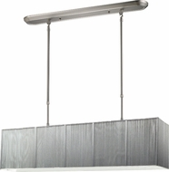Z-Lite 173-36S-NC Casia Contemporary Brushed Nickel Kitchen Island Lighting