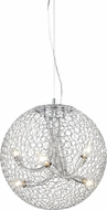 Z-Lite 175-18 Saatchi Contemporary Chrome 20  Tall Pendant Lighting