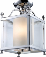 Z-Lite 176-3SF-S Fairview Chrome 8.25  Wide Flush Lighting