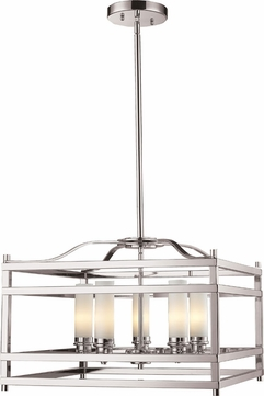 Z-Lite 182-5 Altadore Brushed Nickel 20.875u0026nbsp; Wide Mini Chandelier Light  sc 1 st  Affordable L&s & Z-Lite 182-5 Altadore Brushed Nickel 20.875