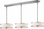 Z-Lite 183-16-3 Cameo Brushed Nickel White Multi Hanging Light Fixture