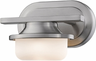 Z-Lite 1917-1S-BN-LED Optum Contemporary Brushed Nickel LED Lighting Sconce