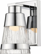 Z-Lite 1923-1S-CH-LED Ethos Modern Chrome LED Wall Lamp