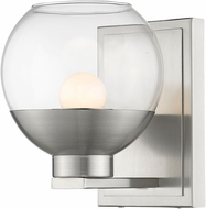 Z-Lite 1924-1S-BN-LED Osono Contemporary Brushed Nickel LED Wall Lighting