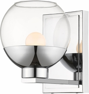 Z-Lite 1924-1S-CH-LED Osono Modern Chrome LED Sconce Lighting