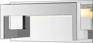 Z-Lite 1925-1S-CH-LED Linc Modern Chrome LED 12  Bathroom Wall Sconce