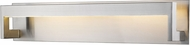 Z-Lite 1925-26V-BN-LED Linc Contemporary Brushed Nickel LED 26  Bathroom Lighting Sconce