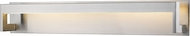 Z-Lite 1925-37V-BN-LED Linc Contemporary Brushed Nickel LED 37  Bath Lighting Sconce