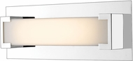 Z-Lite 1926-1S-CH-LED Elara Modern Chrome LED 13  Bathroom Light
