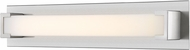 Z-Lite 1926-26V-BN-LED Elara Contemporary Brushed Nickel LED 28  Vanity Light