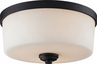 Z-Lite 220F3 Arlington Bronze 13.88  Wide Overhead Lighting