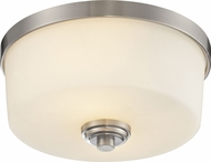 Z-Lite 226F2 Lamina Brushed Nickel 5.75  Tall Overhead Light Fixture