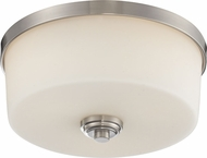 Z-Lite 226F3 Lamina Brushed Nickel 13.875  Wide Overhead Lighting Fixture
