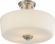 Z-Lite 226SF Lamina Brushed Nickel 10.75  Tall Ceiling Lighting