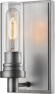 Z-Lite 3000-1S-OS Persis Modern Old Silver Wall Light Fixture