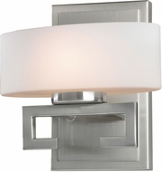 Z-Lite 3010-1V-LED Cetynia Contemporary Brushed Nickel LED Lighting Wall Sconce