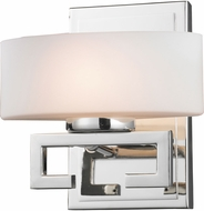 Z-Lite 3011-1V-LED Cetynia Modern Chrome LED Wall Lighting Sconce