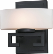 Z-Lite 3012-1V-LED Cetynia Contemporary Painted Bronze LED Wall Sconce Lighting
