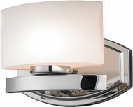 Z-Lite 3014-1V-LED Galati Contemporary Chrome LED Wall Light Sconce