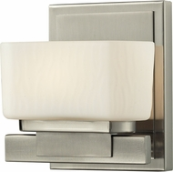 Z-Lite 3019-1V-LED Gaia Brushed Nickel LED Wall Lighting Fixture