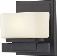 Z-Lite 3021-1V Gaia Bronze 5.75  Wide Halogen Lamp Sconce