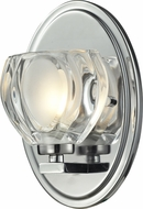 Z-Lite 3023-1V Hale Chrome5  Wide Halogen Wall Light Fixture