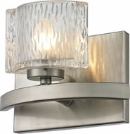 Z-Lite 3027-1V Rai Brushed Nickel 5.5  Tall Halogen Lighting Wall Sconce