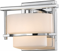 Z-Lite 3030-1S-CH-LED Porter Contemporary Chrome LED Wall Mounted Lamp