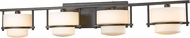 Z-Lite 3030-4V-BRZ-LED Porter Contemporary Bronze LED 4-Light Bathroom Light Sconce
