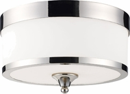Z-Lite 307F-CH Cosmopolitan Chrome 8  Tall Ceiling Light