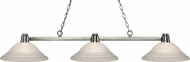 Z-Lite 314BN-SW16 Park Brushed Nickel White Swirl Island Lighting