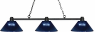 Z-Lite 314BRZ-ARDB Park Bronze Dark Blue Island Lighting