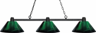 Z-Lite 314BRZ-ARG Park Bronze Green Kitchen Island Lighting
