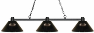 Z-Lite 314BRZ-ARS Park Bronze Smoke Kitchen Island Light